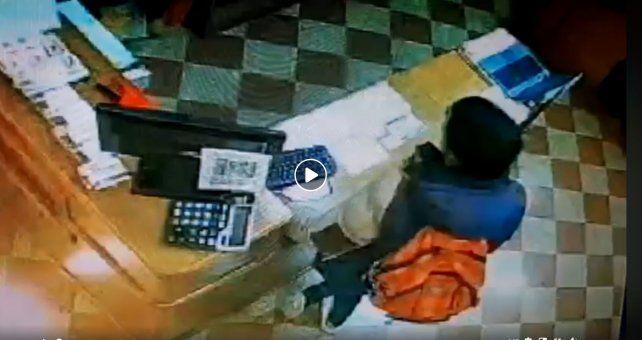 Paraná: robó en un local céntrico y quedó escrachado