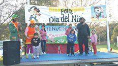 Piry Ávalos dio la bienvenida a chicos y grandes por el Día del Niño la ciudad de Paraná.