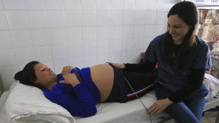 Vínculo. Jésica Suárez espera su cuarto hijo