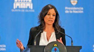 Planificación. La ministra de Desarrollo Social coordina la ayuda a los sectores más pobres.