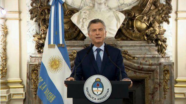 Macri anunció nuevos impuestos a las exportaciones y más ajuste fiscal