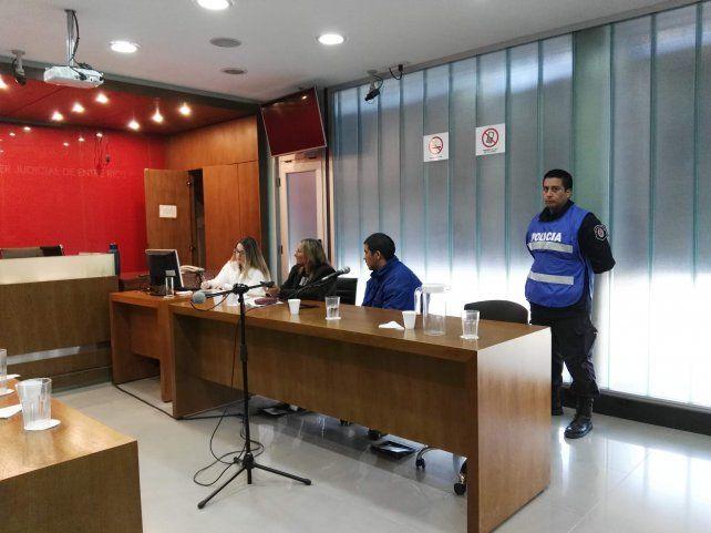 Negocio. Rolón expresó al juez Pimentel su consentimiento con quedar libre y abonar la reparación.
