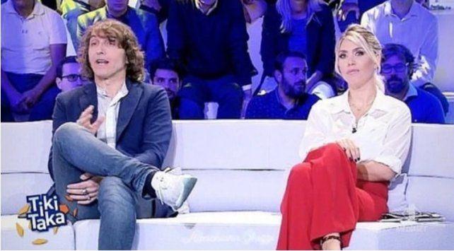Wanda Nara, en su debut en la TV italiana, comparó a Icardi con Ronaldo