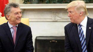 Macri y Trump acordaron un posible encuentro para fin de mes