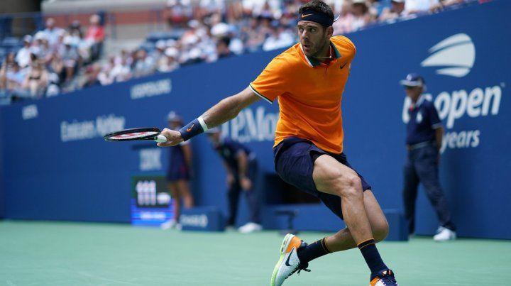 Juan Martín Del Potro derrotó a John Isner y está entre los cuatro mejores del US Open