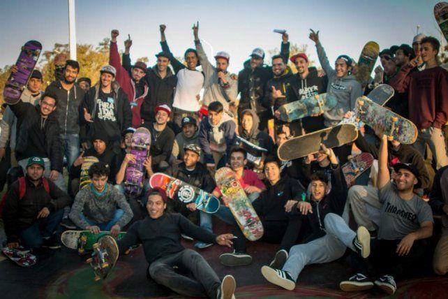 Los skaters de Entre Ríos.