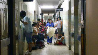 Olla popular en el hospital San Roque. en defensa de la Salud Pública