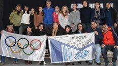 la escuela n°17 heroes de malvinas de gualeguaychu realiza la 9° maraton y caminata aerobica