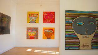 Milo Lockett expondrá su arte, que convoca a la niñez, en Paraná