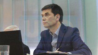 Serio. Canosa escuchó con detenimiento el pedido de condena y cárcel. Foto: Juan Pereira.