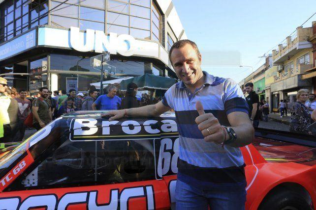 Video: Mariano Werner giró en el circuito de Paraná
