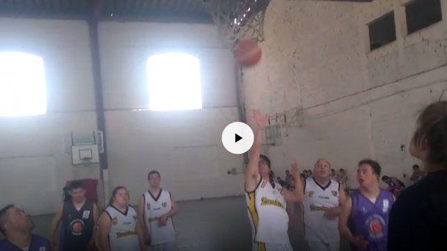 Comenzó el torneo internacional de básquet para jugadores discapacitados