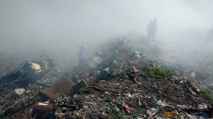 Todo sucedió en un contexto de extrema contaminación.