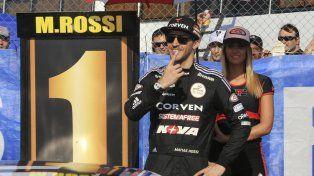 Matias Rossi confiado celebra medido el N° 1.