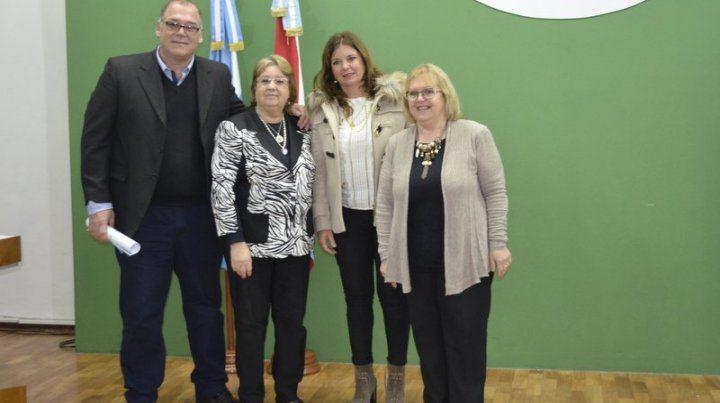 El maestro reconocido en Paraná.