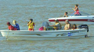 En el río y en la costa, Bajada Grande festejó su fiesta patronal