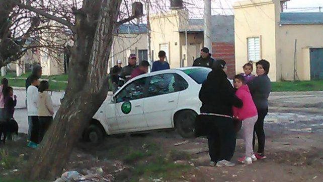Tibiletti y Bordón: Remises y taxis no quieren entrar