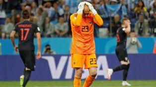 Esto dijo Willy Caballero sobre la caída de la Selección ante Croacia y en el Mundial