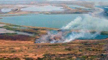 Trabajo Articulado. Desde el gobierno entrerriano dieron cuenta de cómo enfrentar las quemas.