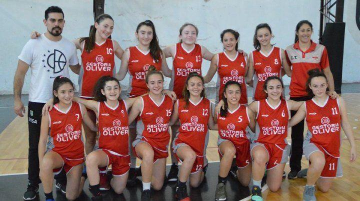 Campeonas. Las chicas vencieron a Paraná