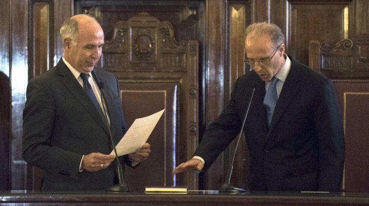 Lorenzetti deja la presidencia de la Corte Suprema de Justicia y lo reemplaza Rosenkrantz