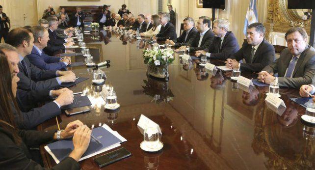 Macri acordó con los gobernadores los puntos sobre el Presupuesto 2019