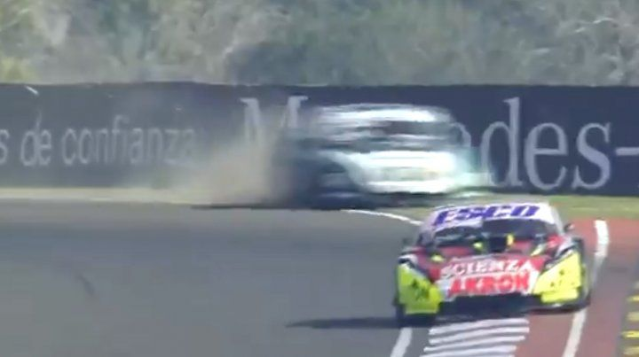 Un clip imperdible del TC en Paraná