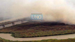 Ya multaron a una docena de productores por las quemas en las islas de Victoria