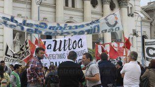 Por trabajo, producción y soberanía gremios y organizaciones sociales se manifestaron en Paraná