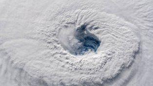 Aterradoras imágenes del huracán Florence desde el espacio