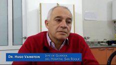 angina bacterial: estas son las recomendaciones del jefe de guardia del hospital san roque