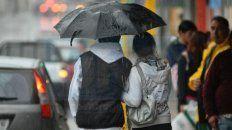 preven tiempo inestable por ingreso de un frente frio