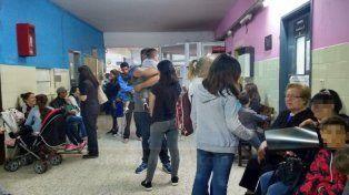 Por prevención los padres acuden a la Guardia del hospital San Roque.