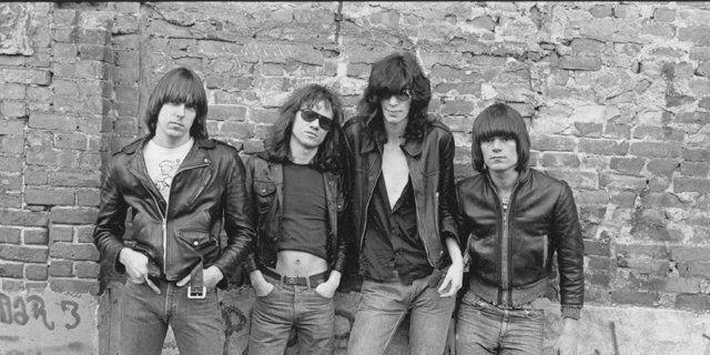 La histórica foto de The Ramones.