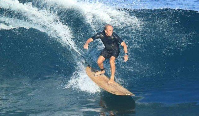 Aguerre, el marplatense que convirtió al surf en olímpico.