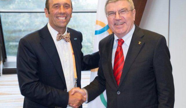 Aguerre confirmó el ingreso del surf a los juegos olímpicos.