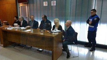 Pasó de todo. Fue muy movida la audiencia en la que se investiga a los crespenses. Foto: Javier Aragón.
