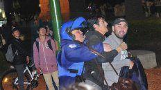 disturbios en la plaza: se constato la venta de marihuana y lsd