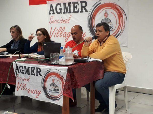 Paritaria: Agmer convocó a un paro por 48 horas