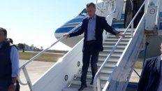 Promesas. El presidente llegó a La Paz donde hizo los anuncios.