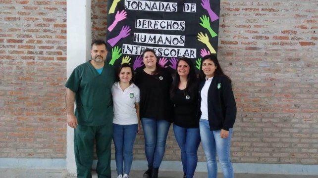 Organizadores de la escuela secundaria Esparza