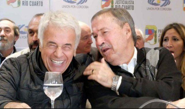 Bordet, Busti y otros dirigentes despidieron a De la Sota