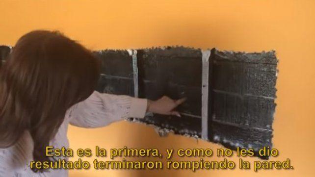 Cristina mostró cómo quedó su casa de El Calafate tras el allanamiento
