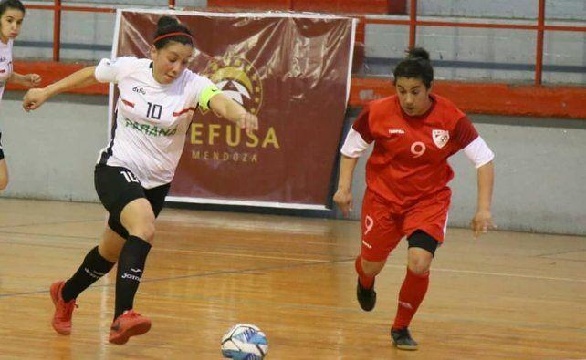 Se le escapó la victoria a Paraná en el Argentino de Futsal