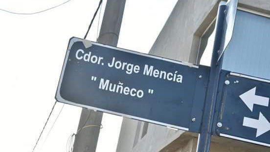El Muñeco Mencía tiene su calle en Paraná