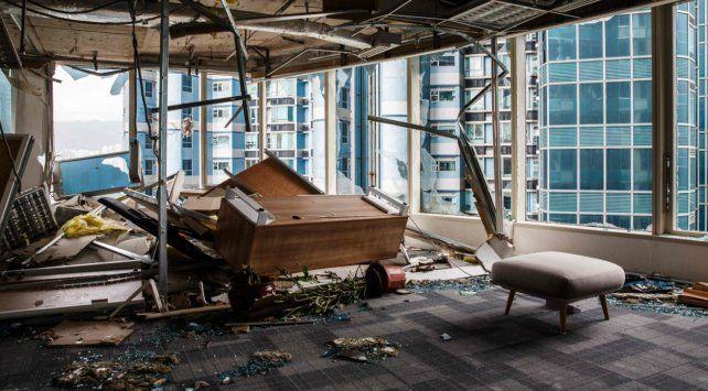 Desoladoras imágenes deja el tifón Mangkhut en Asia