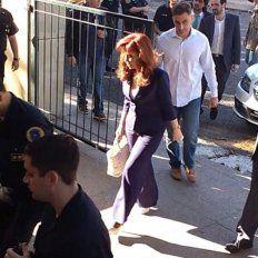 Cristina en Comodoro Py negó todas las acusaciones y dijo que es víctima de una persecución de los no jueces