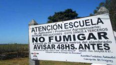quedo firme el fallo que condeno a los que fumigaron sobre la escuela republica argentina