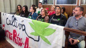 lucha. La fundación Mamá Cultiva Entre Ríos buscará instrumentar con Salud la reglamentación de la ley.
