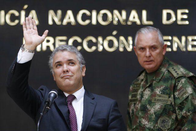 Iván Duque. Las estadísticas no favorecen al mandatario colombiano.
